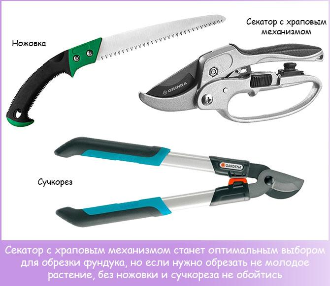 Садовые инструменты для обрезки растений